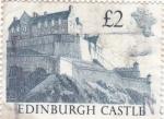 Sellos de Europa - Reino Unido -  CASTILLO DE EDINBURGH