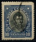 Stamps Chile -  CHILE_SCOTT 173.02 $0.2