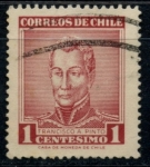 Stamps : America : Chile :  CHILE_SCOTT 324.04 $0.2