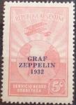 Stamps Argentina -  ZEPPELIN-1932