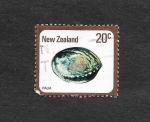 Sellos de Oceania - Nueva Zelanda -  Concha Paua