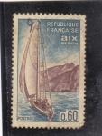 Stamps France -  COSTA DE AIX LES BAINS