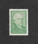 Sellos de America - Argentina -  Domingo F. Sarmiento