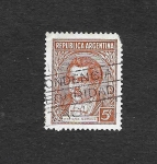 Stamps Argentina -  Mariano Moreno