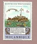 Sellos del Mundo : Africa : Mozambique : 4º Centenario Las Lusiadas  - Rep. Portuguesa