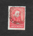 Stamps Argentina -  José Hernández