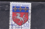 Stamps : Europe : France :  ESCUDO DE SAINT-LO