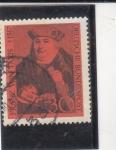 Sellos de Europa - Alemania -  FRANZ VON TAXIS-pionero del servicio postal