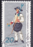 Sellos de Europa - Alemania -  traje típico