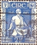 Sellos del Mundo : Europa : Irlanda :  Scott#131 intercambio, 0,20 usd, 2,5 p. 1945