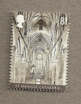 Stamps United Kingdom -  Catedrales de Inglaterra