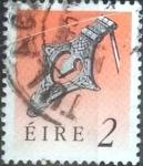 Sellos de Europa - Irlanda -  Scott#768 intercambio, 0,20 usd, 2 p. 1990