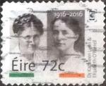 Stamps of the world : Ireland :  Scott#xxxx intercambio, 2,15 usd, 72 c. 2016