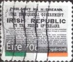 sellos de Europa - Irlanda -  Scott#xxxx intercambio, 1,70 usd, 70 c. 2016