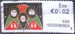 Stamps of the world : Ireland :  ATM#81 nf4b1 intercambio, 0,20 usd, 2 c. 2016