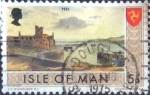 Stamps of the world : Isle of Man :  Scott#20 intercambio, 0,20 usd, 5 p. 1973