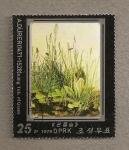 Stamps North Korea -  Detalles cuadros de Durero