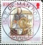 Sellos del Mundo : Europa : Isla_de_Man : Scott#1050e intercambio, 1,00 usd, 25 p. 2004