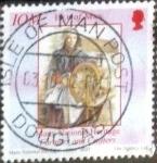 Stamps Isle of Man -  Scott#1050e intercambio, 1,00 usd, 25 p. 2004