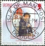 Stamps of the world : Isle of Man :  Scott#1050c intercambio, 1,00 usd, 25 p. 2004