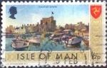 sellos de Europa - Isla de Man -  Scott#12 intercambio, 0,20 usd, 0,5 p. 1973