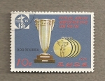 Sellos de Asia - Corea del norte -  Campeonatos de aeromodelismo