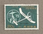 Stamps North Korea -  Campeonatos de aeromodelismo