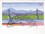 Stamps Germany -  100 AÑOS PUENTE SALZACHBRUCKE