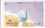 Stamps of the world : United Arab Emirates :  AERONAUTICA- LUNA 9