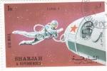 Stamps United Arab Emirates -  AERONAUTICA- LUNA 9