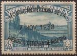 Sellos del Mundo : Europa : España : II Aniv de la Defensa de Madrid  1938 2,45 pts