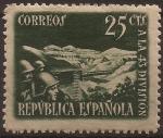Sellos del Mundo : Europa : España : Homenaje a la 43 División  1938  25 cents