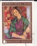 Stamps Hungary -  RETRATO