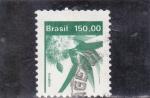 Stamps Brazil -  FLORES- EUCALIPTO