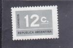 Sellos del Mundo : America : Argentina : CIFRA