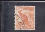 Sellos de Oceania - Australia -  CANGURO