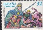 Stamps : Europe : Spain :  EL GUERRERO DEL ANTIFAZ (30)