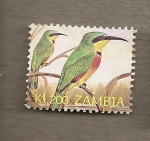 Stamps Africa - Zambia -  Pájaros