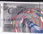 Sellos de Europa - España -  ORGANIZACIÓN EUROPEA PARA LA INVESTIGACIÓN NUCLEAR (30)