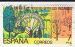 Stamps : Europe : Spain :  PROTEGE LOS BOSQUES-EVITA LOS INCENDIOS(30)