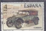 Stamps : Europe : Spain :  COCHE DE EPOCA-HISPANO SUIZA (30)