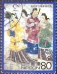 Stamps Japan -  Scott#2700d intercambio, 0,40 usd, 80 yen 2000