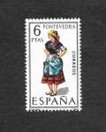 Stamps : Europe : Spain :  Trajes