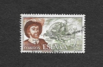 Stamps : Europe : Spain :  Edf 2310 - Personajes Españoles