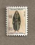 Stamps Morocco -  Vestidos regionales