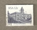 Sellos de Africa - Sudáfrica -  Ayuntamiento Port Elisabeth