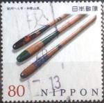 Stamps Japan -  Scott#3610g intercambio, 1,25 usd, 80 yen 2013
