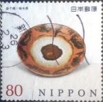 Sellos de Asia - Japón -  Scott#3610h intercambio, 1,25 usd, 80 yen 2013