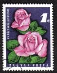 Sellos de Europa - Hungría -  15ª exposición de rosas, Budapest