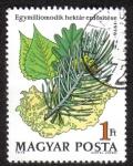 Sellos de Europa - Hungría -  Bosques en Hungría
